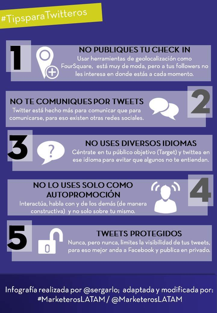 5 tips para twitteros