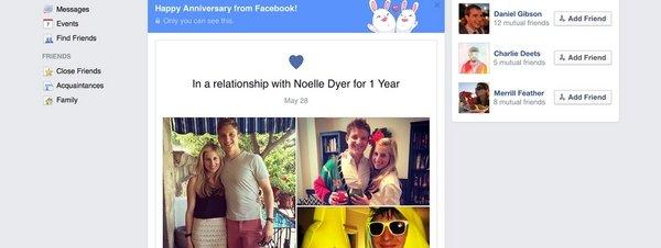 Conoce la nueva APP de Facebook la cual busca recrear momentos inmemorables de tu relación amorosa.