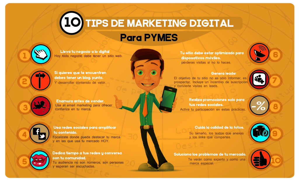 10 tips de marketing digital para pymes