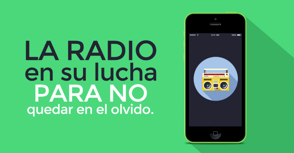 la radio en su lucha