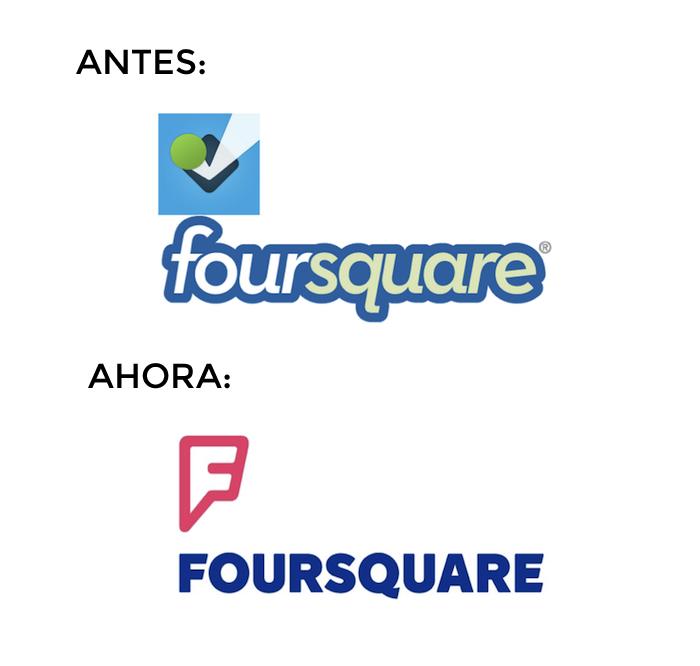 nuevo logo foursquare