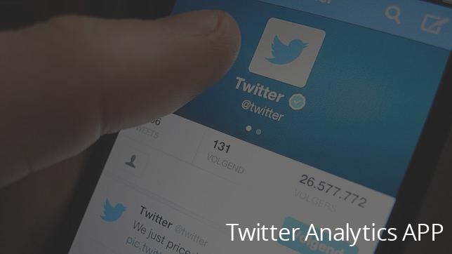 twitter app analytics