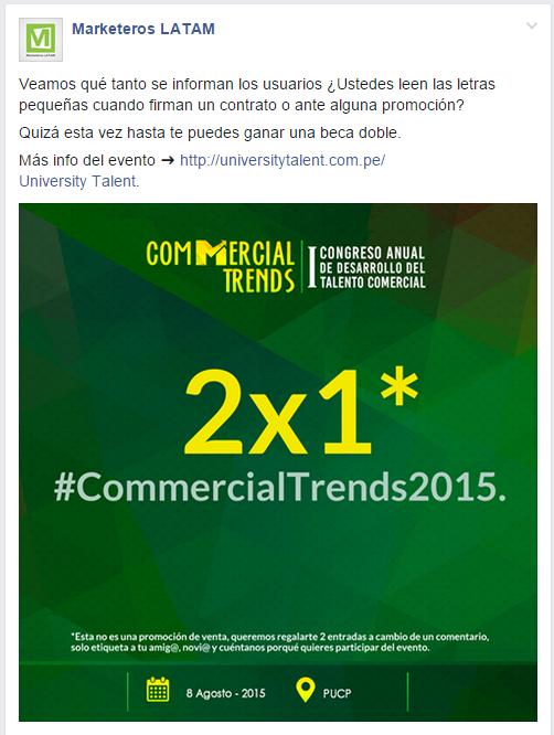 commercial trends 2015, marketeroslatam